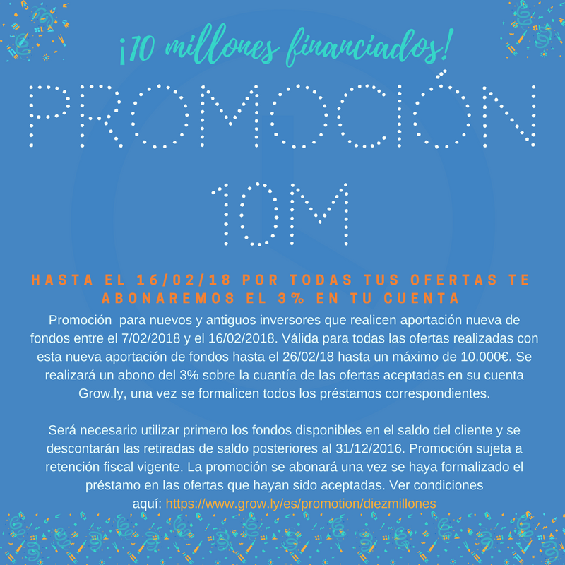 Promocion Growly 10 millones